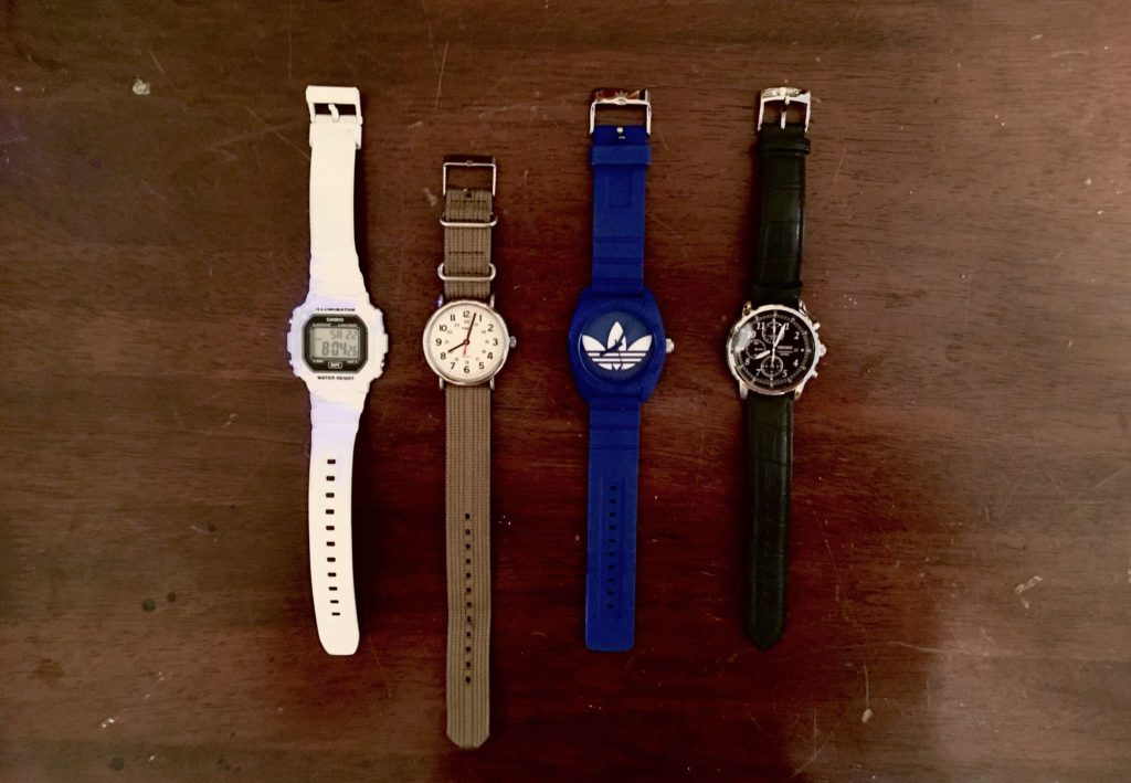 wristwatches under 100 dollars